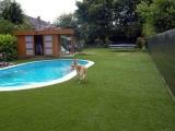 Ландшафтная трава террас, бассейнов, отелей, клубов, декора