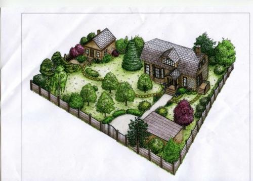 Ландшафтные работы, проектирование