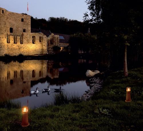 Ландшафтное освещение, декоративное освещение парков и усадеб, подсветка фонтанов. Компьютерная визуализация объекта