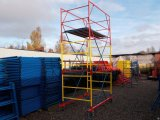 Фото  1 Вышка-тура строительная от завода производителя, строительные леса на колесах в ассортименте 1812871