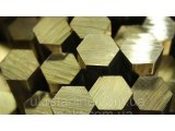 Фото  1 Латунный шестигранник № 41 мм ГОСТ ЛС59-1, Л63 п/тв 2195884
