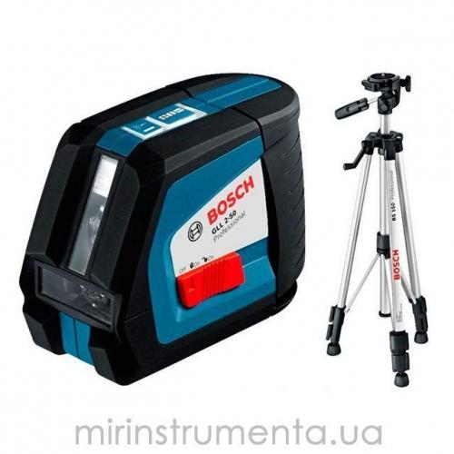 Лазерный нивелир Bosch GLL 2-50 + BS 150 (0601063105)