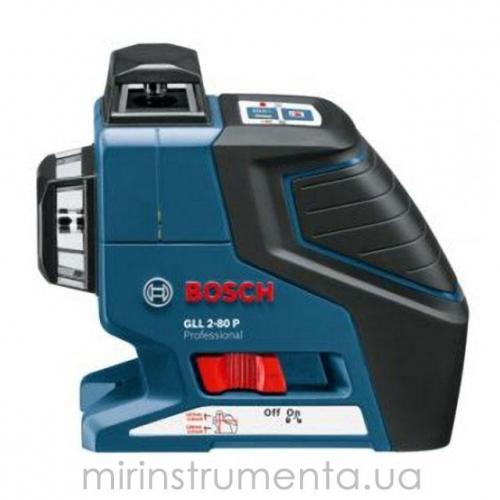 Лазерный нивелир BOSCH GLL 2-80 + вкладыш под L-Boxx (0601063204)