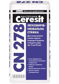 Легковыравнивающаяся стяжка для пола Церезит сн 278 Харьков