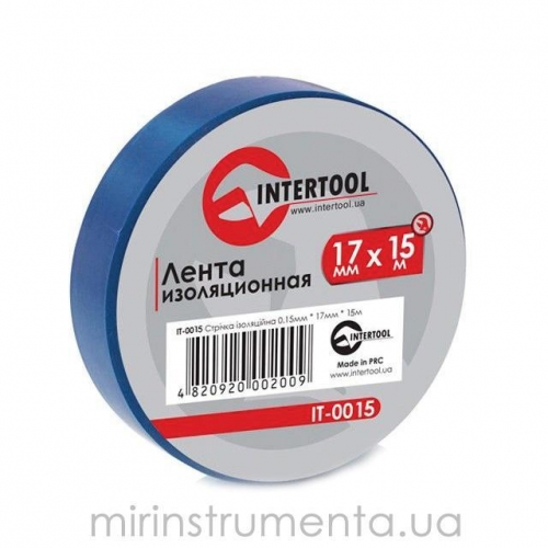 Лента изоляционная INTERTOOL IT-0015