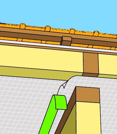Фото 2 Стрічка будівельна BUTYL TAPE (для покрівельних плівок) 340805