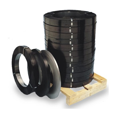 Лента упаковочная стальная с покрытием 0,6*19 мм