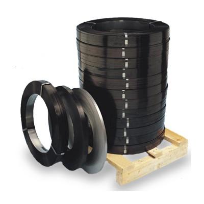 Лента упаковочная стальная с покрытием 0,8*32 мм