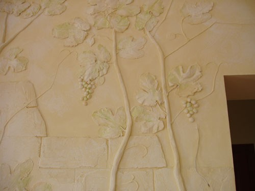 лепка, фрески, роспись
