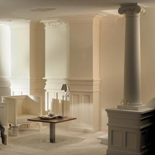 Лепнина декоративная Harmony из полиуретана: карнизы, молдинги, колонны, балки др.