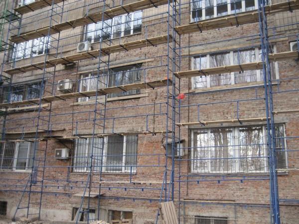 Леса строительные облегченные для отделки фасадов