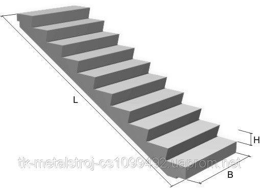 Лестничные марши 1ЛМ 30.12.15-4 Л