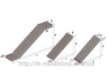 Лестничный марш ЛМП 52.12.20-4К 5200*1200*1970 мм