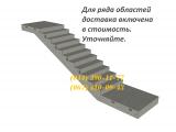 Фото  1 Лестничный марш ЛМП 57.11.18-5-3 , большой выбор ЖБИ. Доставка в любую точку Украины. 1950282