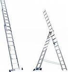 Аренда алюминевой лесницы 9, 12 метров высота