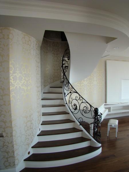 Лестница бетонная . Проектирование и изготовление