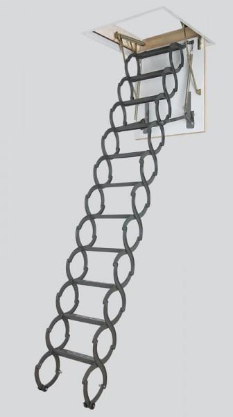 Лестница чердачная металлическая Fakro LSТ, 70*120