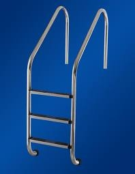 Лестница для бассейна 4-х ступенчатая(нерж) Standart