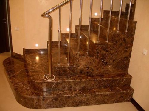 Лестница мраморная 2