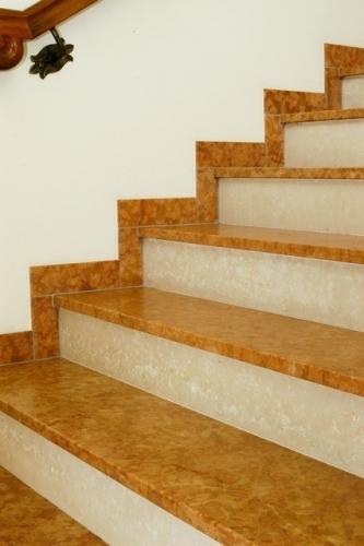 Лестница мраморная 6