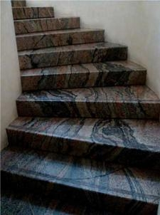 Лестница мраморная 7