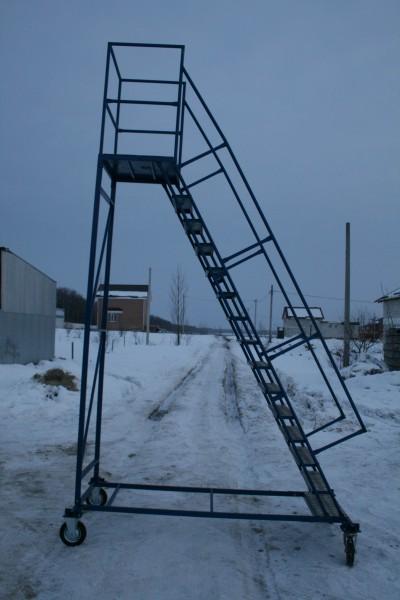 Лестница передвижная. Цена от производителя