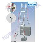 Лестница-трансформер, телескопическая, KRAUSE TeleVario 4x5 ступеней (122179)