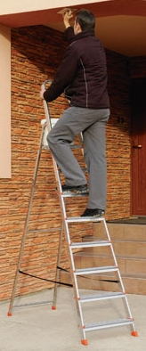 Лестницы алюминиевые односторонние (стремянки) ALW
