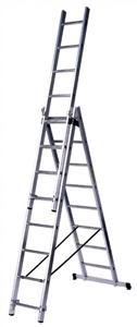 Лестницы алюминиевые разных размеров. и производителей по самым приемлемым ценам всегда в наличии.