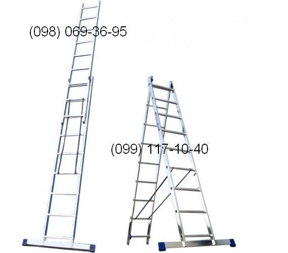 Лестницы алюминиевые. Большой выбор, высокое качество, доставка по всей Украине! В наличии на складе!