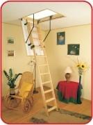 Лестницы чердачные OMAN деревянные