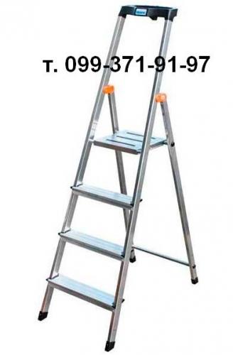 Лестницы и стремянки алюминиевая
