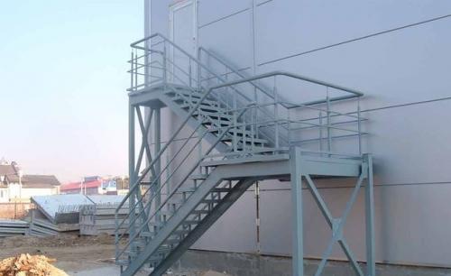 Лестницы промышленные, лестницы металлические