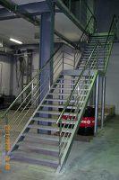 Лестницы стационарные
