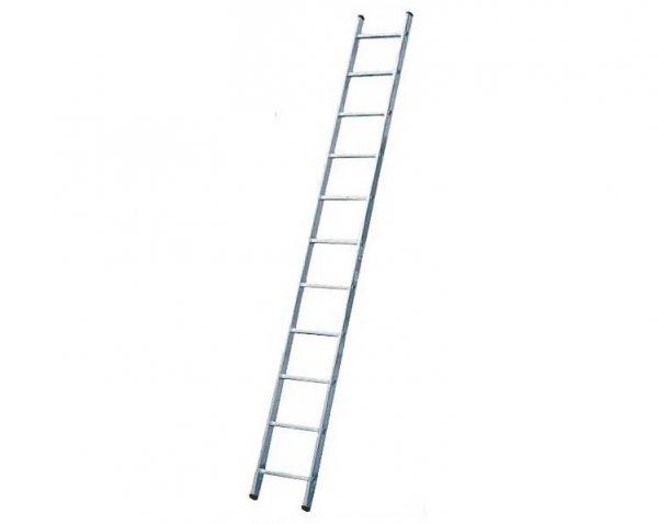 Фото  1 Алюминиевая односекционная приставная лестница на 11 ступеней 2255530