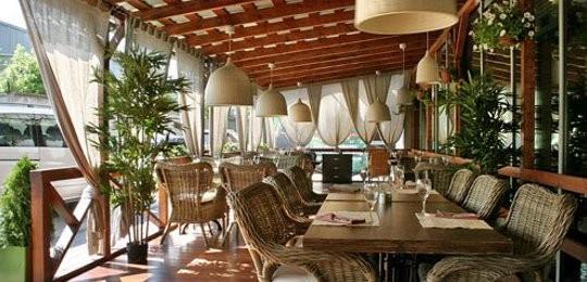 Летние площадки кафе, для ресторанов, баров, кафе из дерева, метала, поликарбоната, кирпича