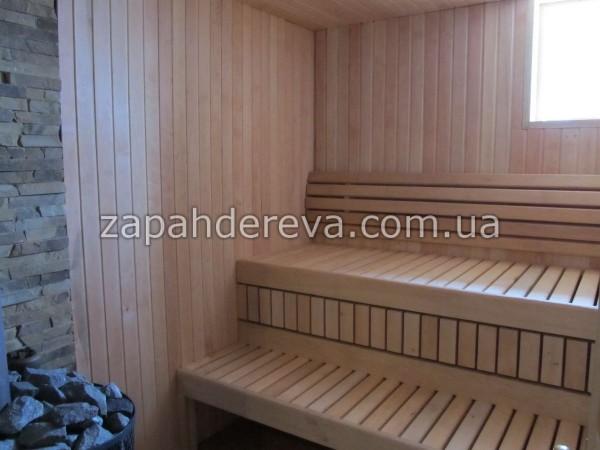 Лежак деревянный из ольхи 1 сорт (невыпадной сучёк) на полки или трапики в сауну и баню, а также лавок.