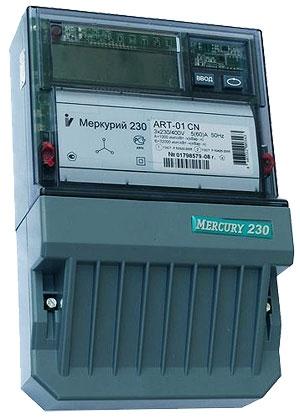Лічильник електроенергії Меркурій 230 АРТ_02RN