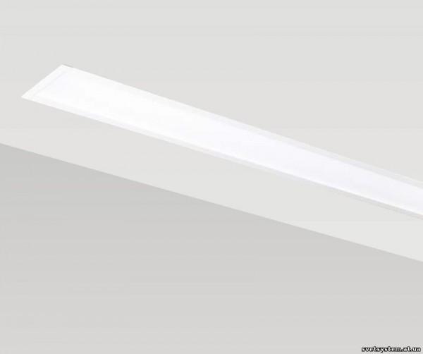 Линейные светильники, професиональные, люминисцентные Корпус из алюминиевого профиля матовый плексиглас на заказ