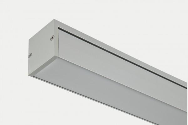 Линейные светильники, профессиональные, светодиодные Корпус из алюминиевого профиля Крышка - матовый плексиглас на заказ