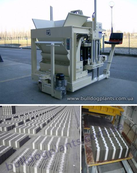 Линии по производству блоков, бордюров, брусчатки, тротуарной плитки, а также изоляционных блоков
