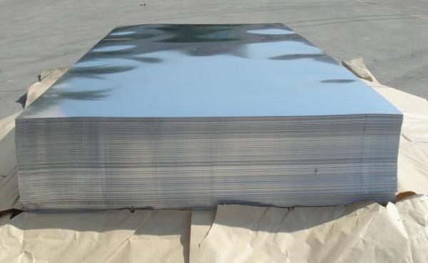 Лист AISI 304 BА 1,0х1250х2500 БЕЗ плёнки