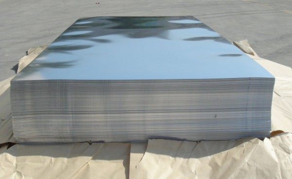 Лист AISI 304 ВА 0,5х1000х2000 плёнка