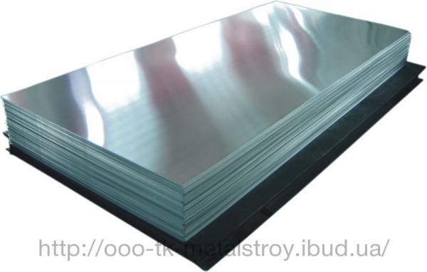 Лист алюминиевый АМГ5М 2,0*1500*3000 мм