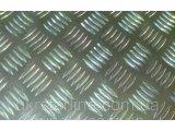 Фото  1 Лист алюминиевый рифленый 1х1000х2000 мм АД0 (квинтет) ГОСТ 2185090