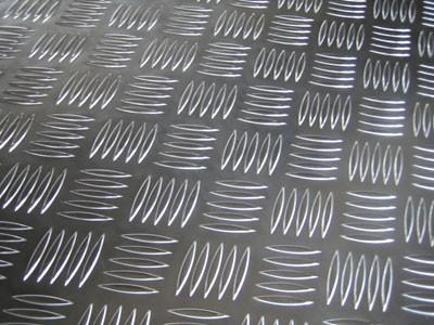 Лист алюмінієвий рифленый 3,0 мм мм АД0Н2 , 1050 Н24 1000х2000мм . Виробництво Польща , Китай, Турция