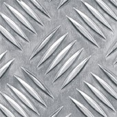 Лист алюмінієвий рифленый 4,0 мм мм АД0Н2 , 1050 Н24 1500х4000мм . Виробництво Турция