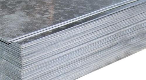 Лист х/к оцинкованный 0,45*1,00 мм ст.08-3кп