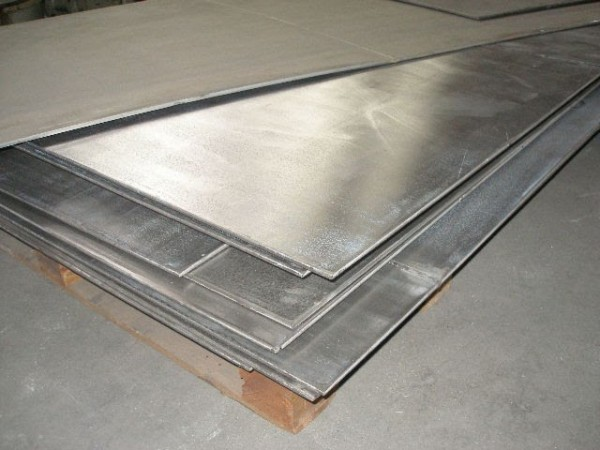 Лист н/ж 430 1,0 (1,25х2,5) BA+PVC