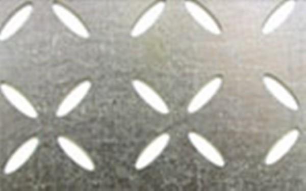 Лист н/ж перф. 0,8мм 1,0х2,0м Don and Cross 4-12х12